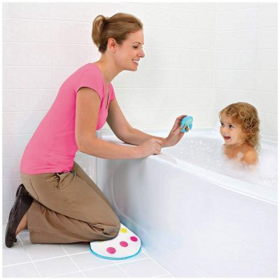 Munchkin Dandy Dots Bath Kneeler and 2 Float and Play Bubbles Bundle