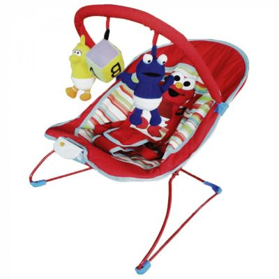 Sesame Street Elmo Deluxe Baby Bouncer