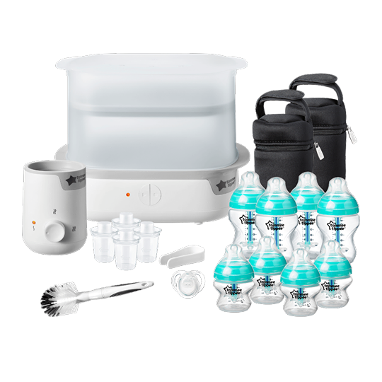 EditShare Share Save Tommie Tippee Advanced Anti-Colic Complete Feeding Set