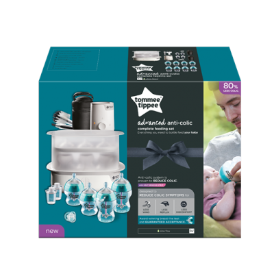 Tommie Tippee Advanced Anti-Colic Complete Feeding Set