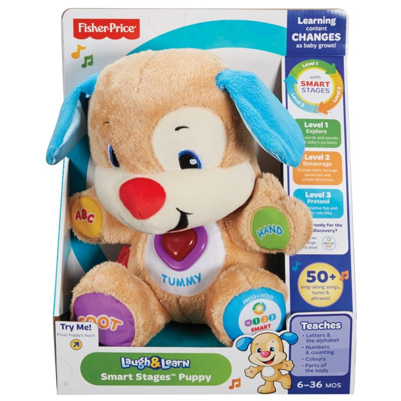 fisher price laugh learn smart stages puppy 2