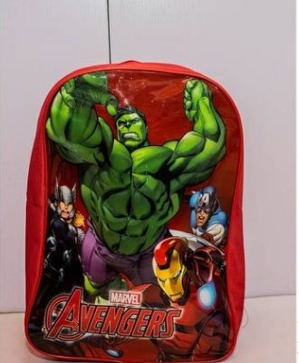Avengers Character Backpack