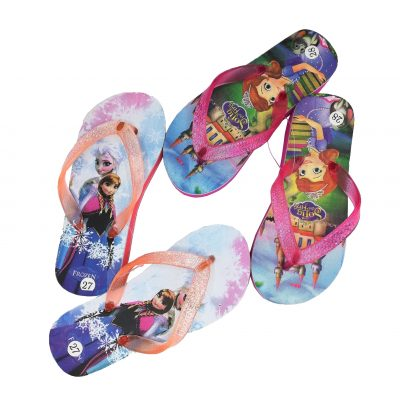 Disney character slippers