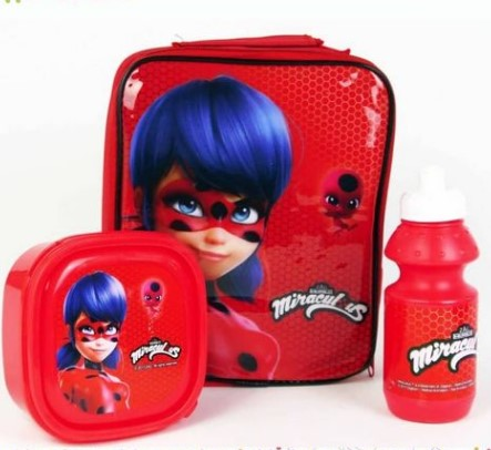 Miraculous 3 in 1 Lunch Bag