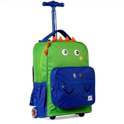 Twise Kids Rolling Backpack with Lunch Bag