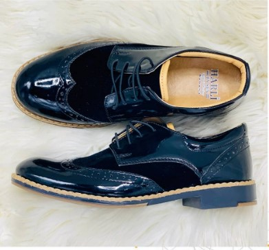 Harli boys navy blue shoe