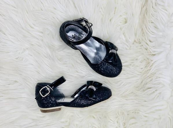 Harli girls black sandal