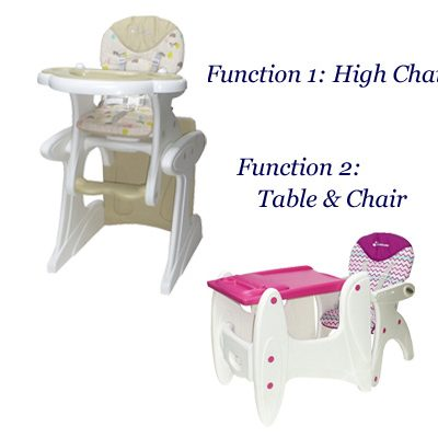 Mamalove 2 in 1Highchair