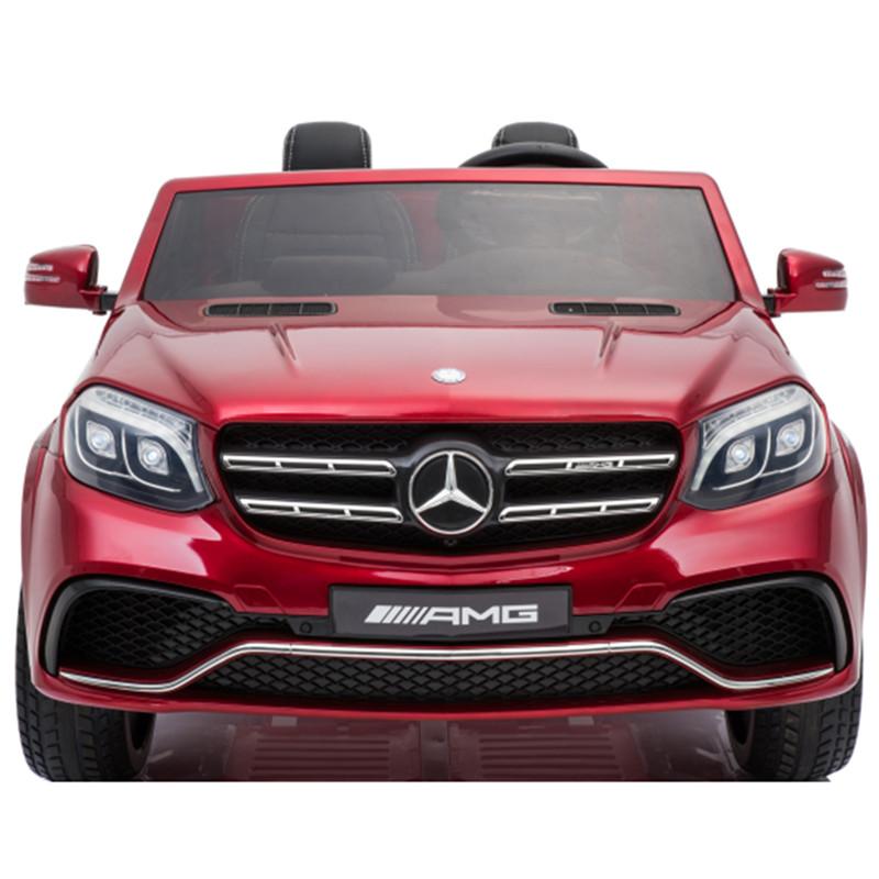 Mercedes Benz Electric Car- Red 1