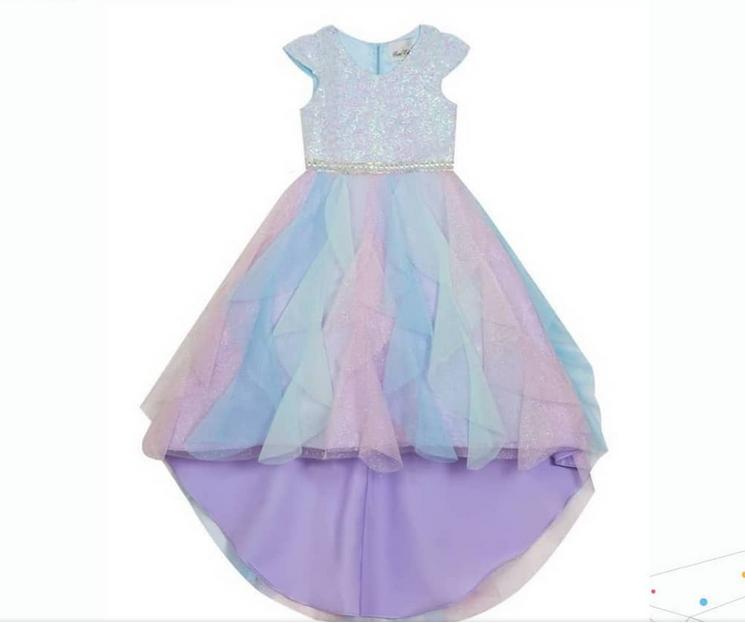 Rare Edition Lilac Sequin Dress