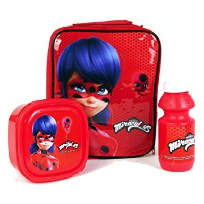 Miraculous 3 Set Lunch Bag