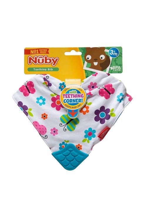 Baby Bibs & Burp Cloths Nuby Bandana Teething Bibs Pack of 3 Baby buildersandthing