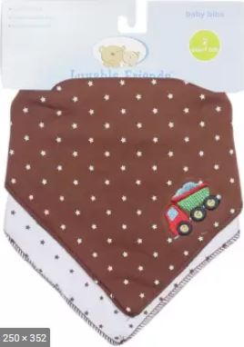 Luvable Friends 3 Baby Bibs