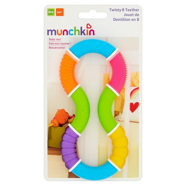 Munchkin Twisty Figure 8 Teether Toy 6 Months+2