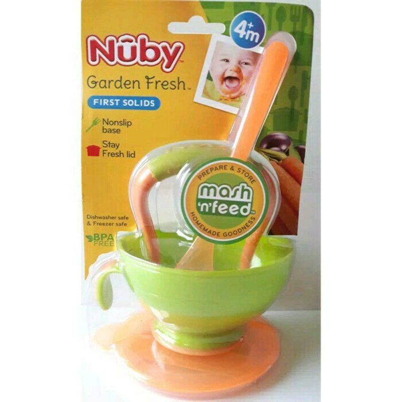 Nuby Garden Fresh Mash n Feed