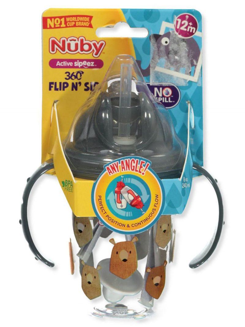 Nuby Sipeez Flip N Sip Cup