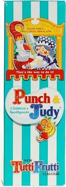 Punch & Judy Children Toothpaste – Tutti Frutti