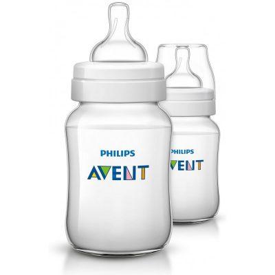 Avent classic feeding bottle 260m/9oz(2 bottle)