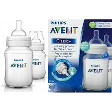 Avent classic feeding bottle 260m/9oz(2 bottle)