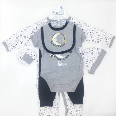 Duck Duck Goose 7 Piece Layette Set 3-6 Month