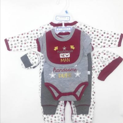 Duck Duck Goose 7 Piece Layette Set 0-3 Month