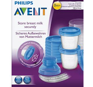Philips AVENT Breast Milk Storage Cups