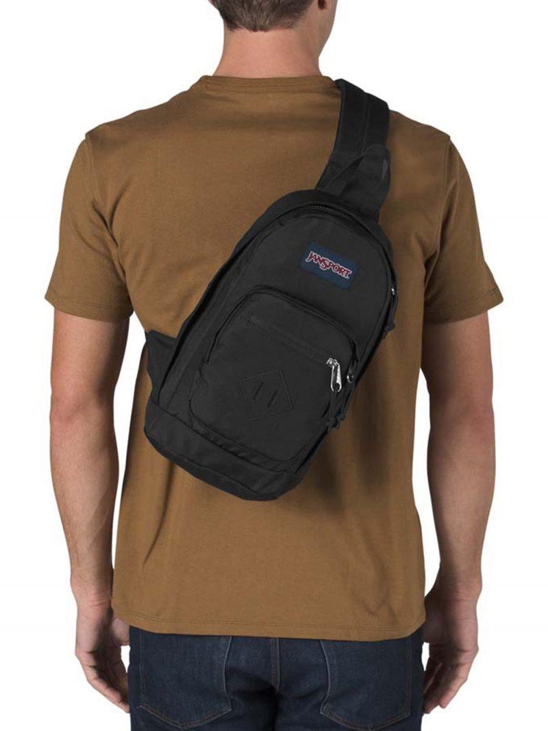 Jansport Metro Sling Pack - Black 1