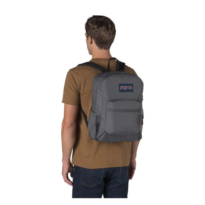 Jansport Crosstown Backpack Deep Grey 4