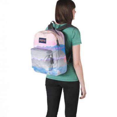Jansport High Stakes Backpack – Multi linear Skies