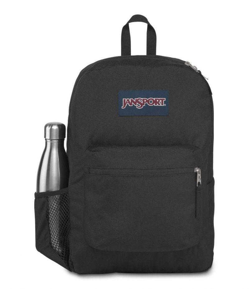 Jan Sport Cross Town Backpack - Black 1