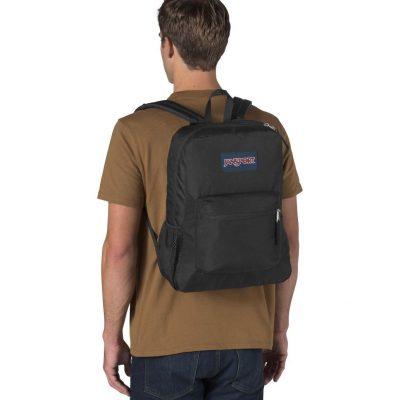 Jan Sport Cross Town Backpack – Black