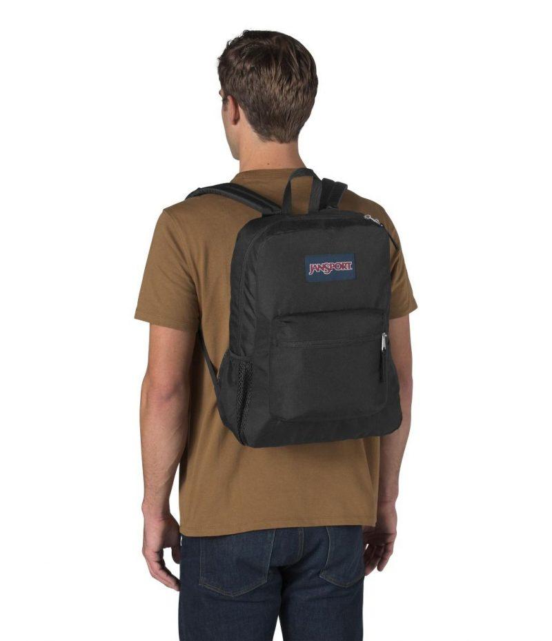 Jan Sport Cross Town Backpack - Black 2