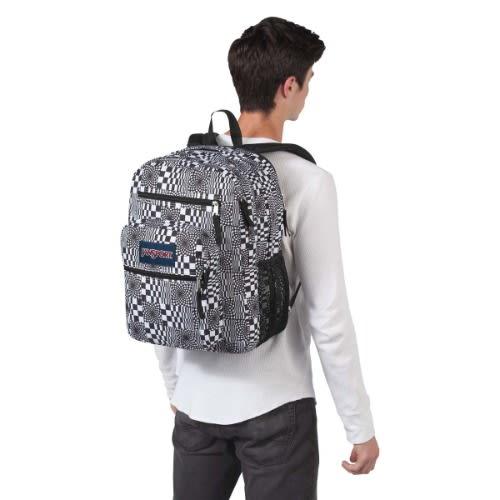 Jansport Superbreak Backpack - Distorted Checkerboard 1