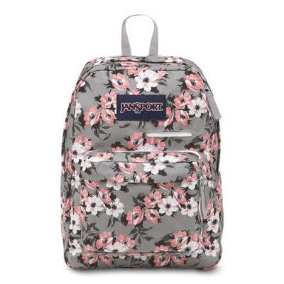 Jansport DigiBreak Backpack – Coral Sparkle